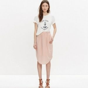 Asymmetrical Silk Skirt - Madewell